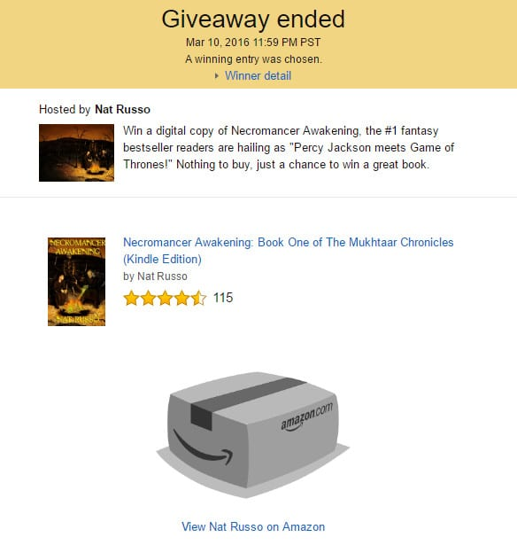 Amazon Giveaways