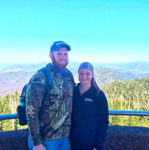 From our trip to the Smoky Mountains!