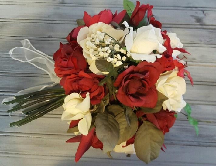 DIY Silk Flower Wedding Bouquet | Erin Mackey, Author