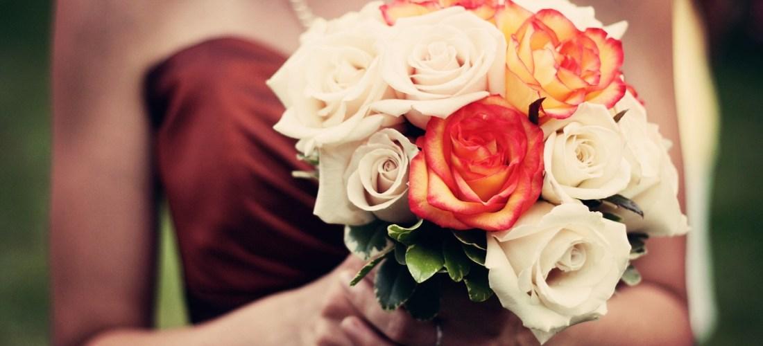 DIY Silk Wedding Bouquet