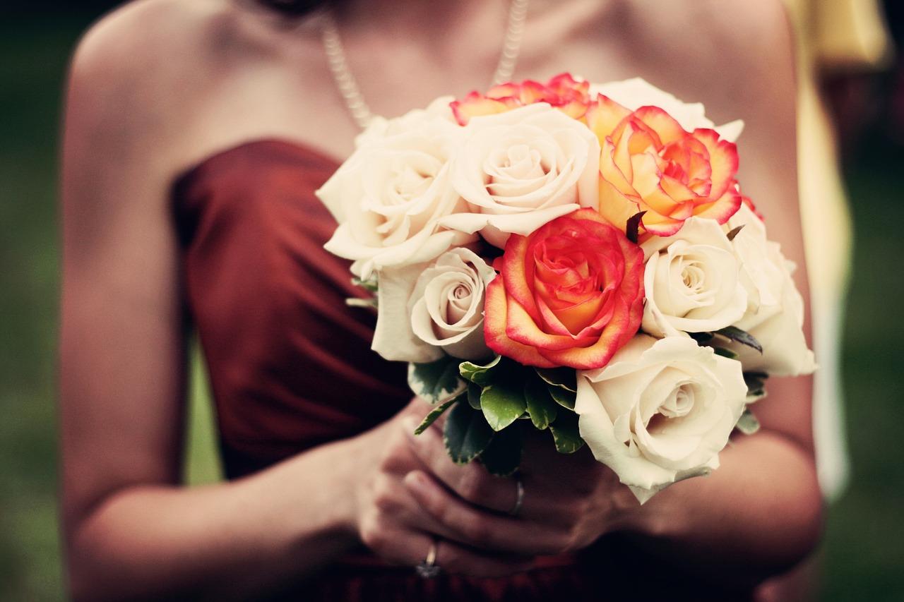 DIY Silk Flower Wedding Bouquet