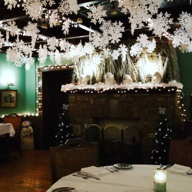 Christmas dinner with my hubby last night at Old Southhellip