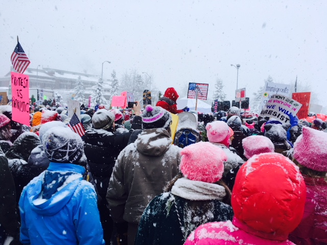 Women's March in Anchorage