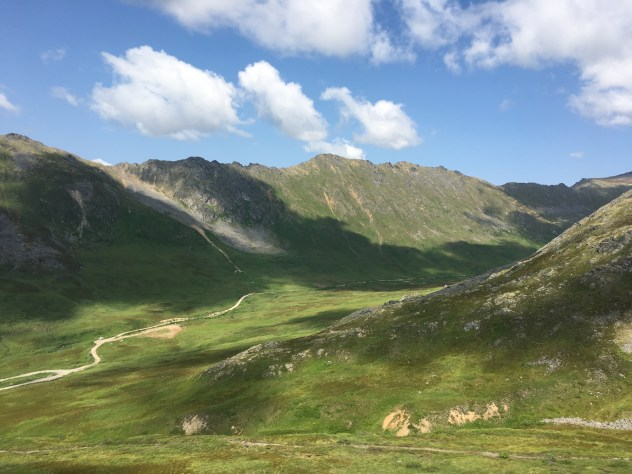 Mountains in Hatcher Pass