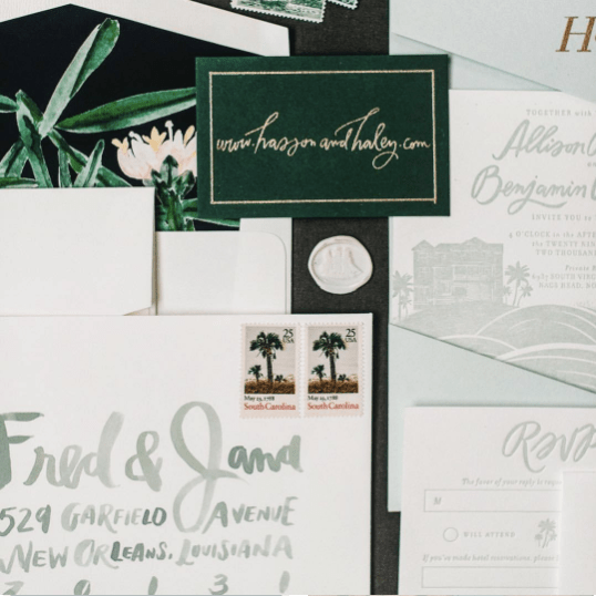 5 Incredible Chicago Stationers for your Wedding Invitations The