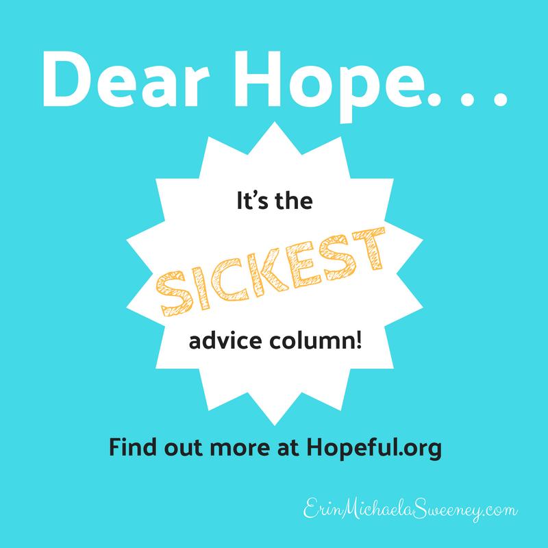 it's the sickest advice column