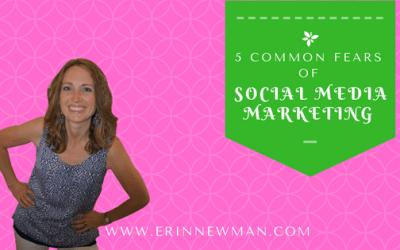 5 Common Social Media Marketing Fears for Entrepreneurs
