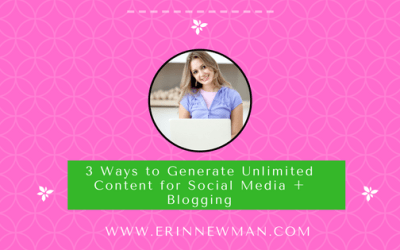 3 Ways to Generate Unlimited Content