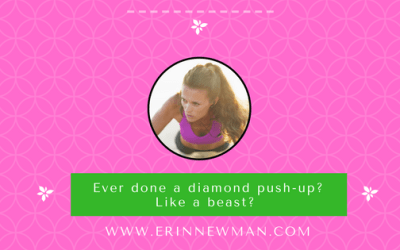 Ever done a diamond push-up? Like a beast?