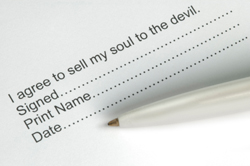 Selling your soul to the devil