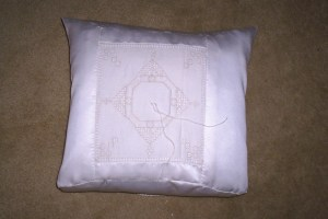 Photo: Ring Pillow
