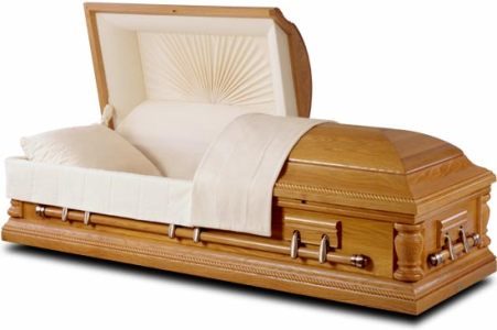 Casket from EnvironmentalCaskets.com