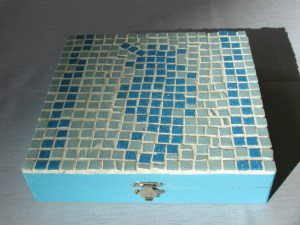 Photo of mosaic box