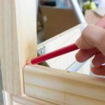 Ikea Tarva Nightstand Hack Stenciled String Art Erin Spain