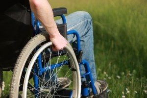 Man in a wheelchair Boston Denied Claims Attorney