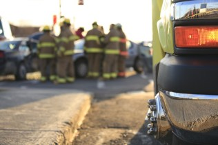 Boston Accident Death Claims Attorney car crash with firefighters