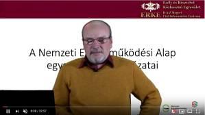 NEA egyszerűsített pályázatok videó útmutató