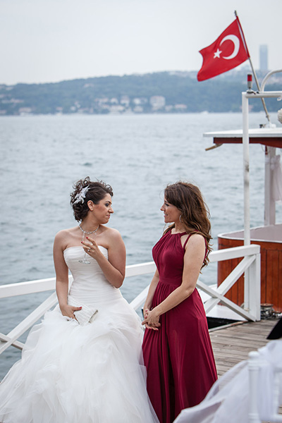 wedding by the bosphorus