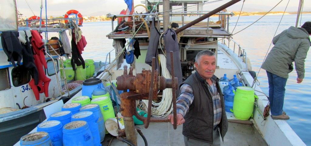 Deniz hıyarı toplamacılığı