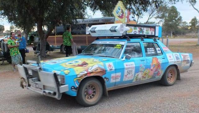 Spongebob car.