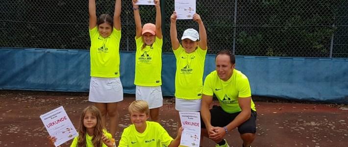 Erlenbacher Tennis – Jugend wird erstmals Landesmeister