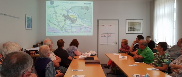 """Bürgerworkshop zum Thema """"Starkregenkonzept"""""""