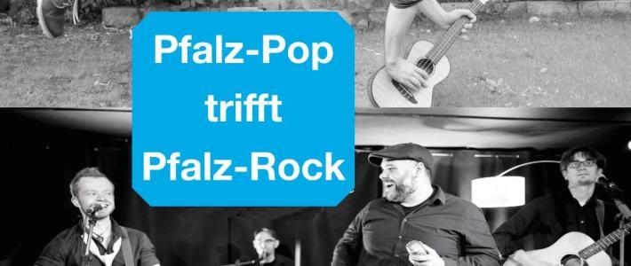 ***Pfalz-Pop trifft Pfalz-Rock 2.0*** am 20. Oktober im Bürgerhaus