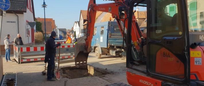 Bauarbeiten sind schneller – als geplant