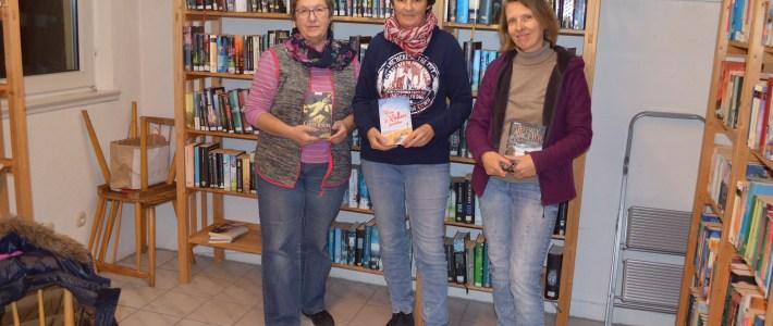 Klein aber fein: Bücherei in Hauptstraße 32