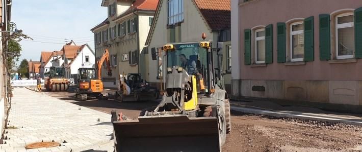 OD Baustelle – Bauabschnitt 01 kommt in die letzten Züge