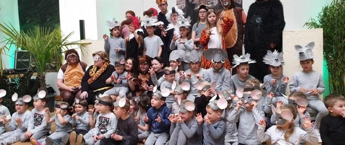 """Das Kindermusical """"Das Dschungelbuch"""" mit dem Projektchor Little Voices war ein voller Erfolg"""