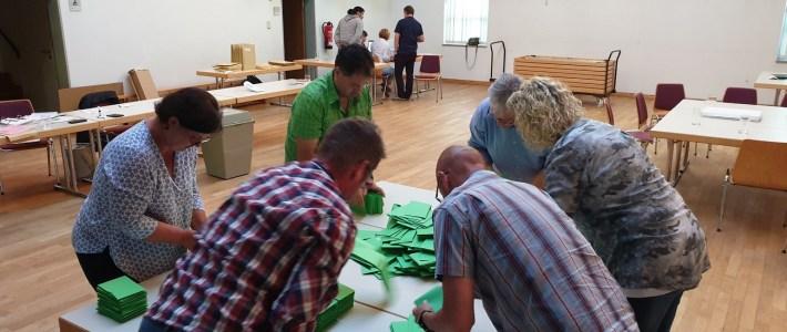 Die Gemeinde Erlenbach hat gewählt – DANKE für 65% Wahlbeteiligung