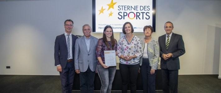 """VR Bank Südpfalz zeichnet den TC Erlenbach mit dem """"Bronzen Stern des Sports"""" aus – GLÜCKWUNSCH"""