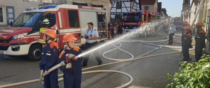 Traditionelles Feuerwehrfest und VG Jugendfeuerwehr Abschlussübung – Klasse wars!