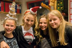 Kerstfeest obs de Piramide