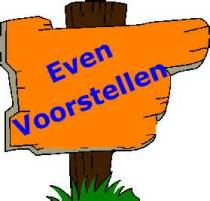 Even voorstellen . . . . .