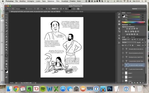 Come lavoro al secondo capitolo di Storia semiseria e illustrata della filosofia occidentale