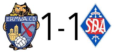 1-1. El Ermua cosecha un empate para acabar el año