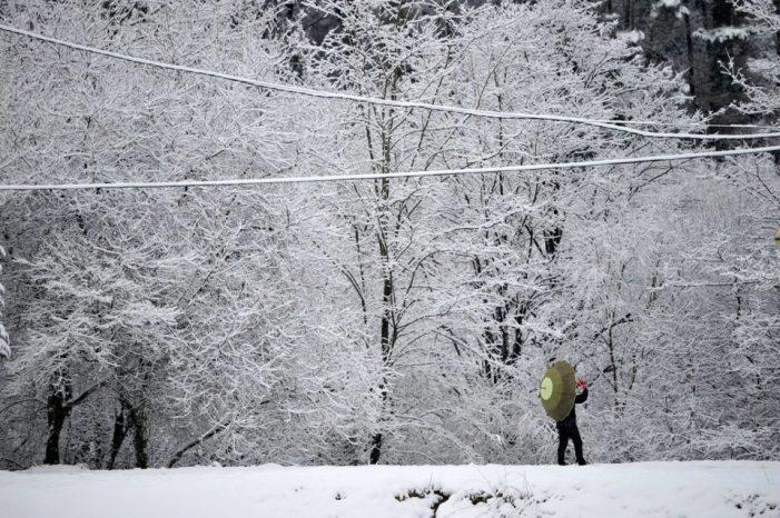 Activada, lunes y martes alerta naranja por nieve