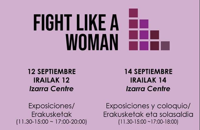 Fight like a woman: programa de las jornadas feministas