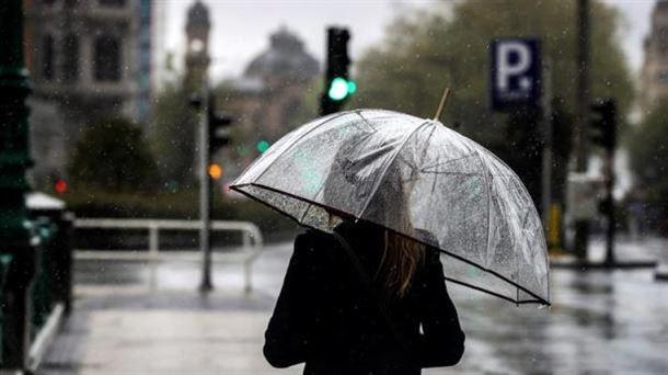 Aviso amarillo por fuertes lluvias a partir de las 15.00 horas del sábado 8