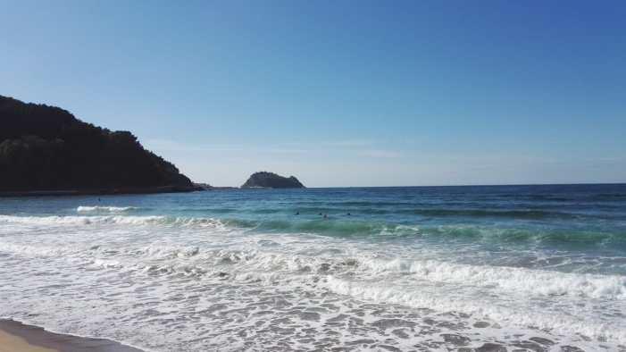 Los escolares de Ermua evalúan estado de la costa