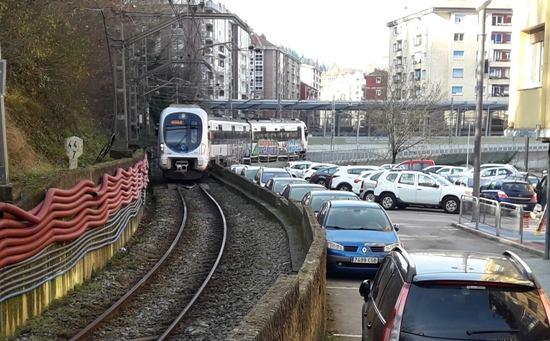 Menos aparcamientos en Ermua a causa de las obras
