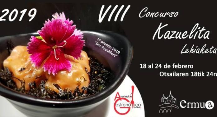 El 18 de febrero arranca la octava edición del concurso de cazuelitas