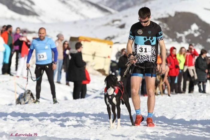 Andoni Isusi y 'Balto' campeones de España de canicross
