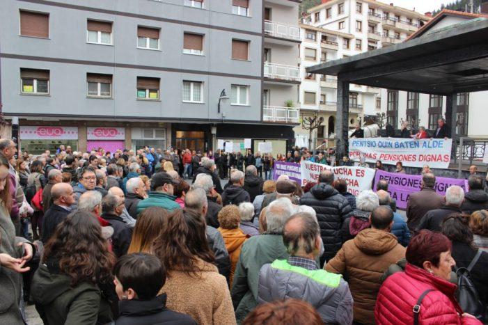 Movilización por unas pensiones dignas