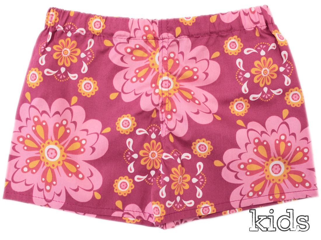 Mandala Organic Cotton Boxershorts for Kids by erna&gustav