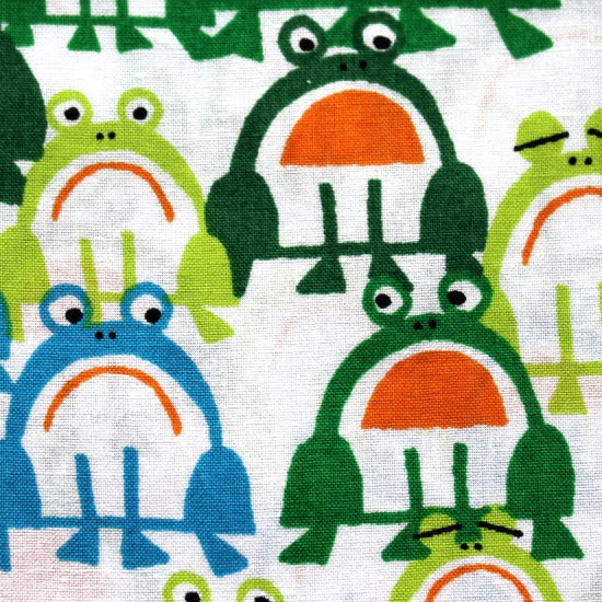 Frogs Stoff