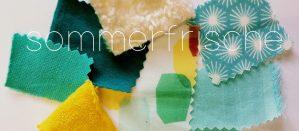 erna&gustav Organic Comfort Clothing – Fabric Mood 'Sommerfrische'