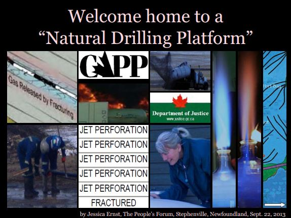 2013 09 22 Title Slide Welcome home to a Natural Drilling Platform